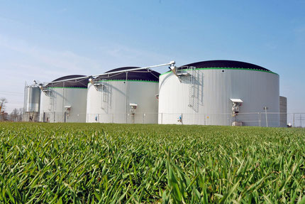 Biogas plant バイオガスプラント