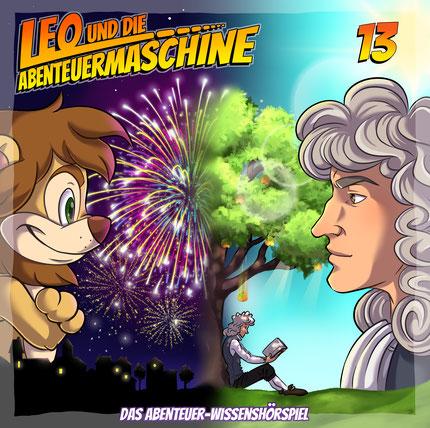 CD-Cover Leo und die Abenteuermaschine 13