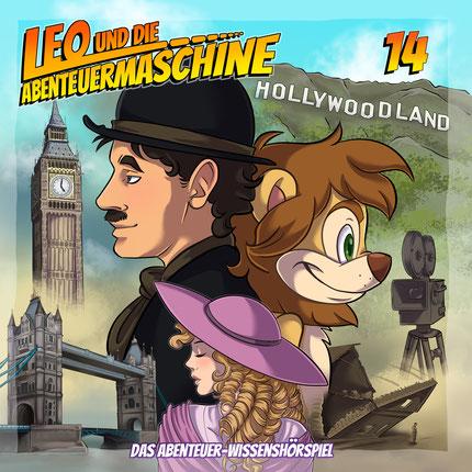 CD-Cover Leo und die Abenteuermaschine 14