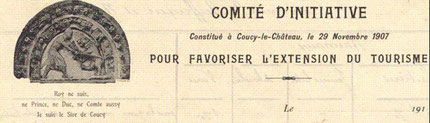 Document à entête du Comité d'Initiative