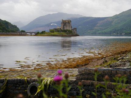 Eilean Donan Castle in den westlichen Highlands