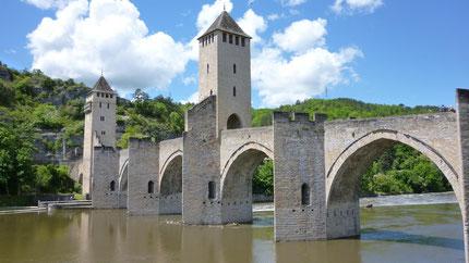 Pont, Cahors, GR65, Compostelle