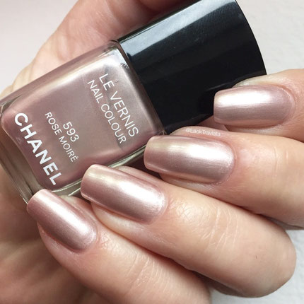 Swatch CHANEL ROSE MOIRÉ 593