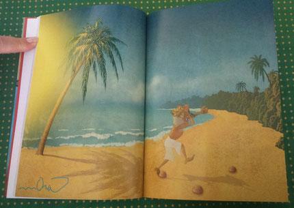 """Il·lustració del llibre """"Els calçotets bruts del dimoni miratort"""""""