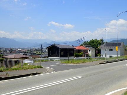 アクセス・上田バイパス無料待機所近く交差点クランク・みやじま歯科クリニック