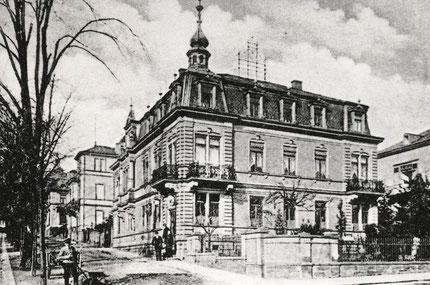 Das Kaiserliche Postamt in Bad Nauheim