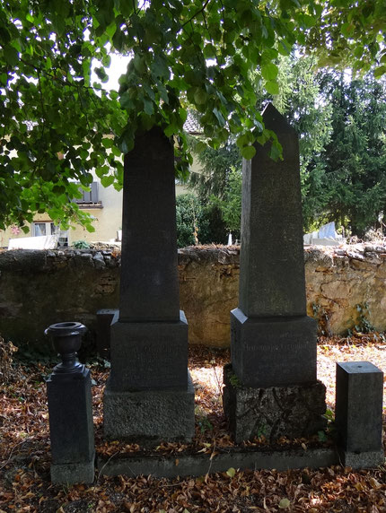 Grabstätte von Heinemann und Lisette Grünbaum
