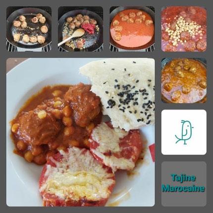 Dein Pinterest Pin für eine Tajine Marocaine aus der gusseisernen Pfanne von Pampered Chef®