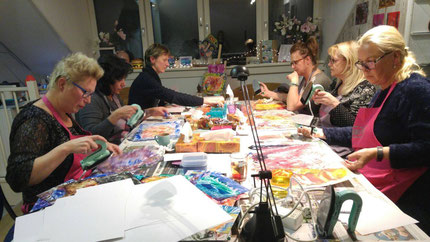 Workshop schilderen met bijenwas/ encaustic art workshop