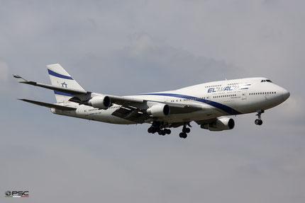 Boeing 747 El Al, foto archivio PSC