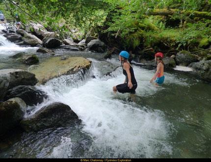 Randonnée aquatique dans les Pyrénées