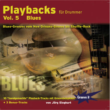Playbacks für Drummer Vol.5 (Blues)