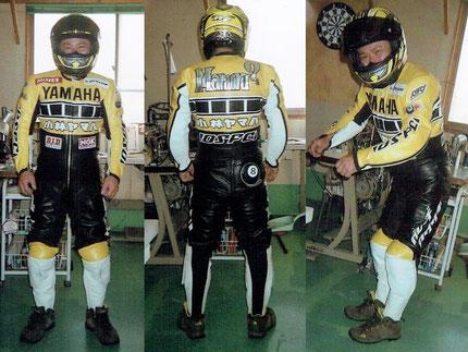 レザーレーシングスーツ、革つなぎ、レザースーツ