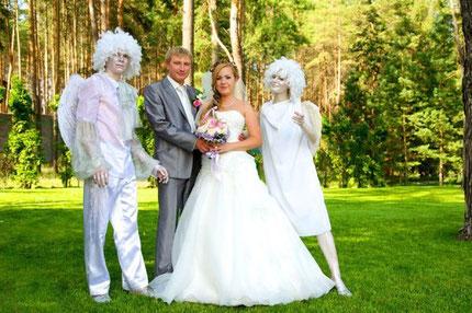 Аниматоры на свадьбе