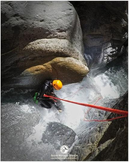 canyoning briançon clarée montgenèvre serre-chevalier canyon des acles hautesalpes