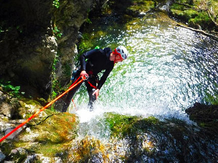 canyoning briançon, serre chevalier