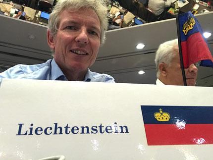 Philip Schädler als Delegierter am ITU Kongress in Lausanne