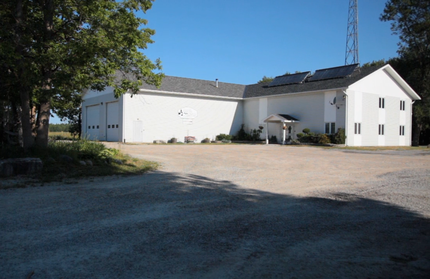 Municipal complex in the township of Burpee & Mills.