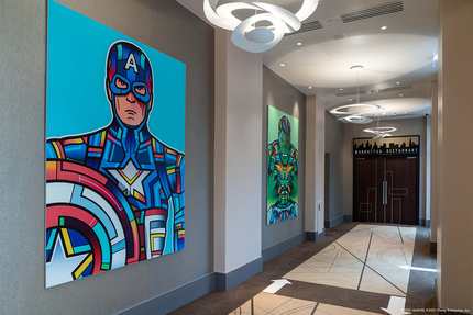 Disneyland Paris 2021 - Hotel New York - The Art of Marvel