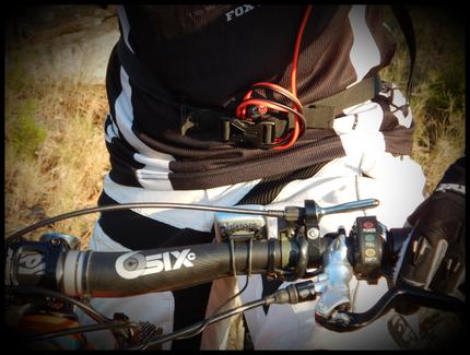 vélo électrique - accélérateur au guidon
