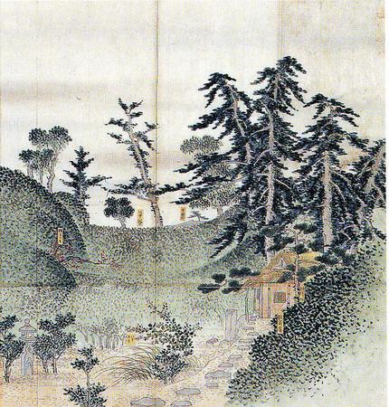 Teehaus Enshô des Ueda Sôko