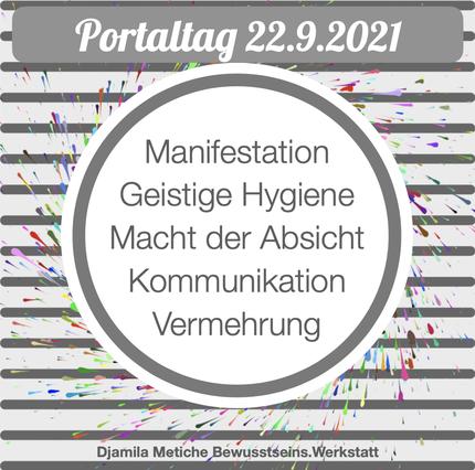 Portaltag 1.9.2021