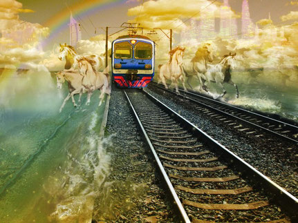 """""""Прибытие Поезда. Под стук невидимых копыт..."""""""