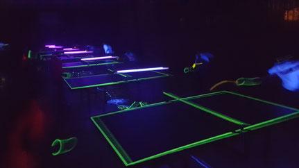 Das Blacklight-Turnier des VfL Woltorf am 29.10.2016
