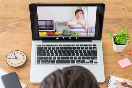 オンライン食育イメージ