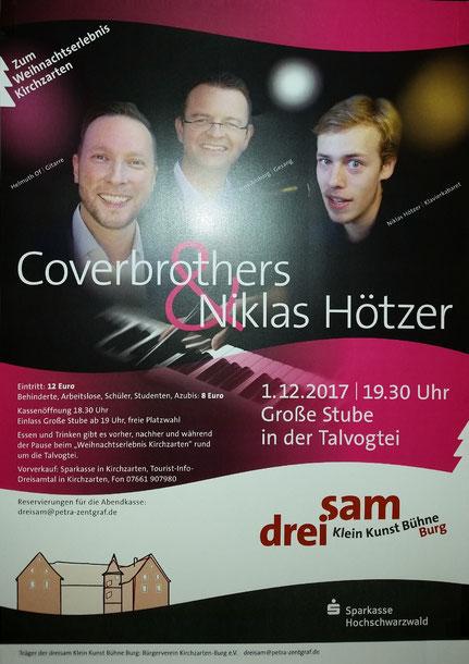 Klavier-Kabarettist und -Comedian Niklas Hötzer als Special Guest in der Talvogtei Kirchzarten