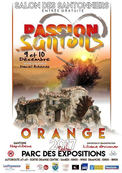 Foire aux santons Orange Vaucluse 84 décembre 2017