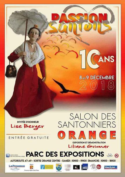 foire aux santons orange vaucluse 2018