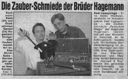 Bild Zeitung vom 16.09.97