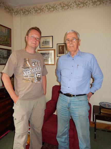 Roberts erstes Treffen mit Nevill Swanson 2014