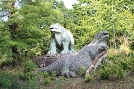 Weltausstellung London: Der erste Dinopark der Welt
