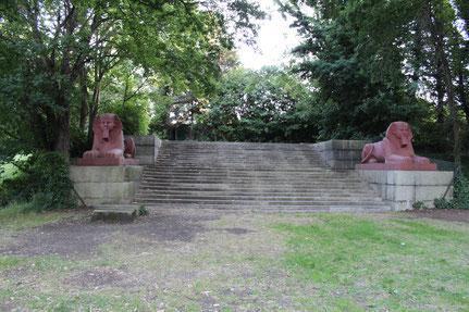 Überreste des Crystal Palace