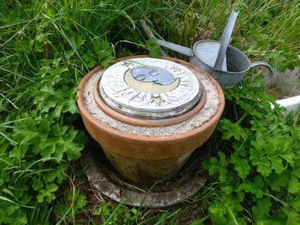 不用電的黏土花盆「冰箱」