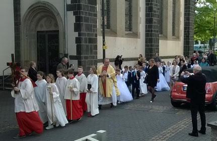 Erstkommunion in Weißenthurm