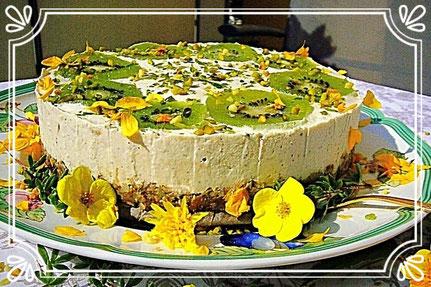Kiwi- Limetten- Torte