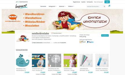 meinBordürenladen auf neuen Online-Marktplatz für selbstgemachte Produkte - Kasuwa.de