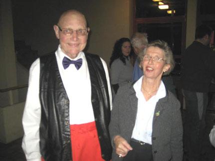 Unsere Fahnenpaten: Franz Bobst(+2011) und Sonja Kaiser-Tosin (+2013)
