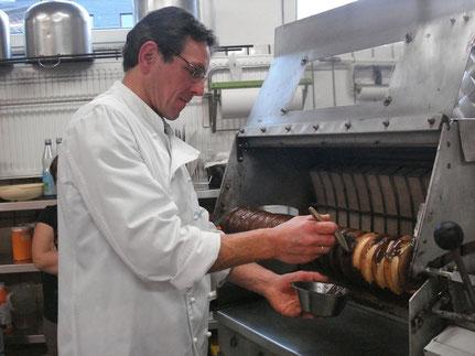 Frischen und selbstgemachten Baumkuchen können Sie in unserer Konditorei in Bad Berleburg finden.