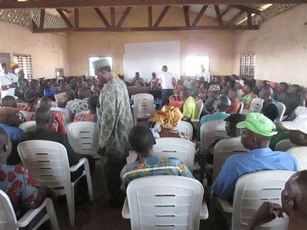 9 janvier 2015 : Cérémonie de lancement du projet à Sô-Ava
