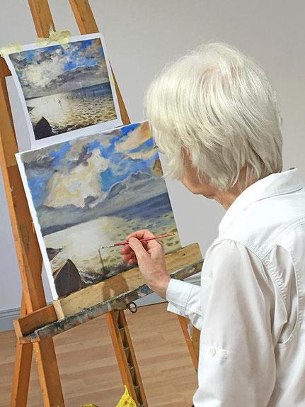 impressionistisch malen lernen