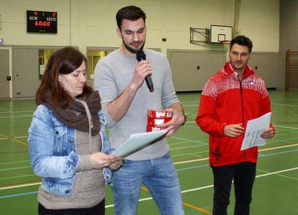 Perfekte Turnierorganisation - Herr Gerst und Herr Naegele