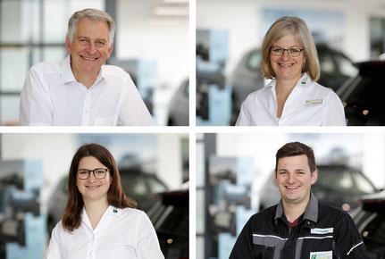 Familie und Team des Autohauses Fischer in Celle