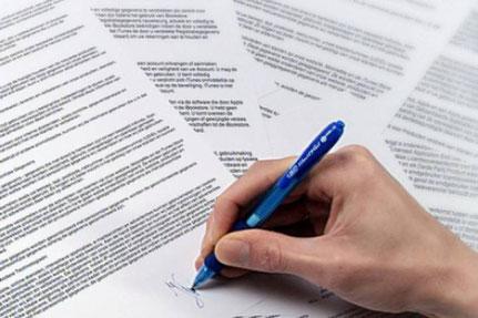 консультация юриста по составлению договора