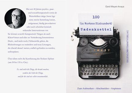 Buch Umdenkzettel von Gerd Meyer-Anaya