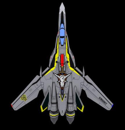 VF-25S(オズマ機)制作中