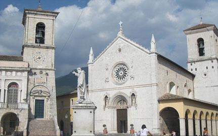 Basilica di San Benedetto Norcia (Italien) vor dem Erdbeben